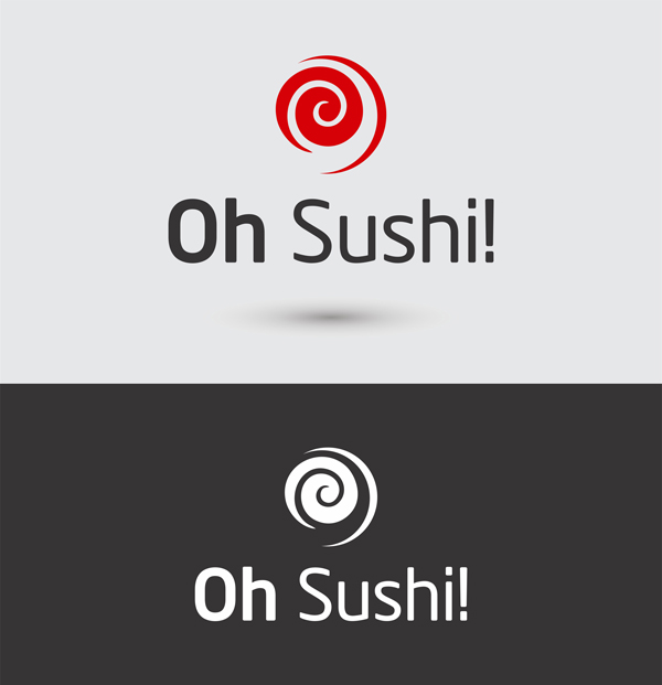 in logo shushi